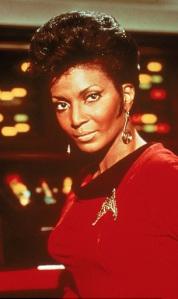 Nyota Uhura, Nichelle Nichols